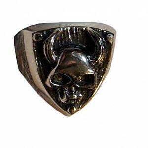 Srebrny Pierścionek srebro ŻMIJA Cobra wąż Gothic