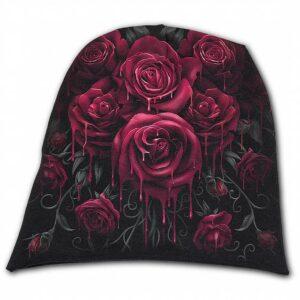czapka krwawe róże 49